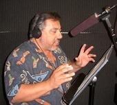 Nick Omana in Studio